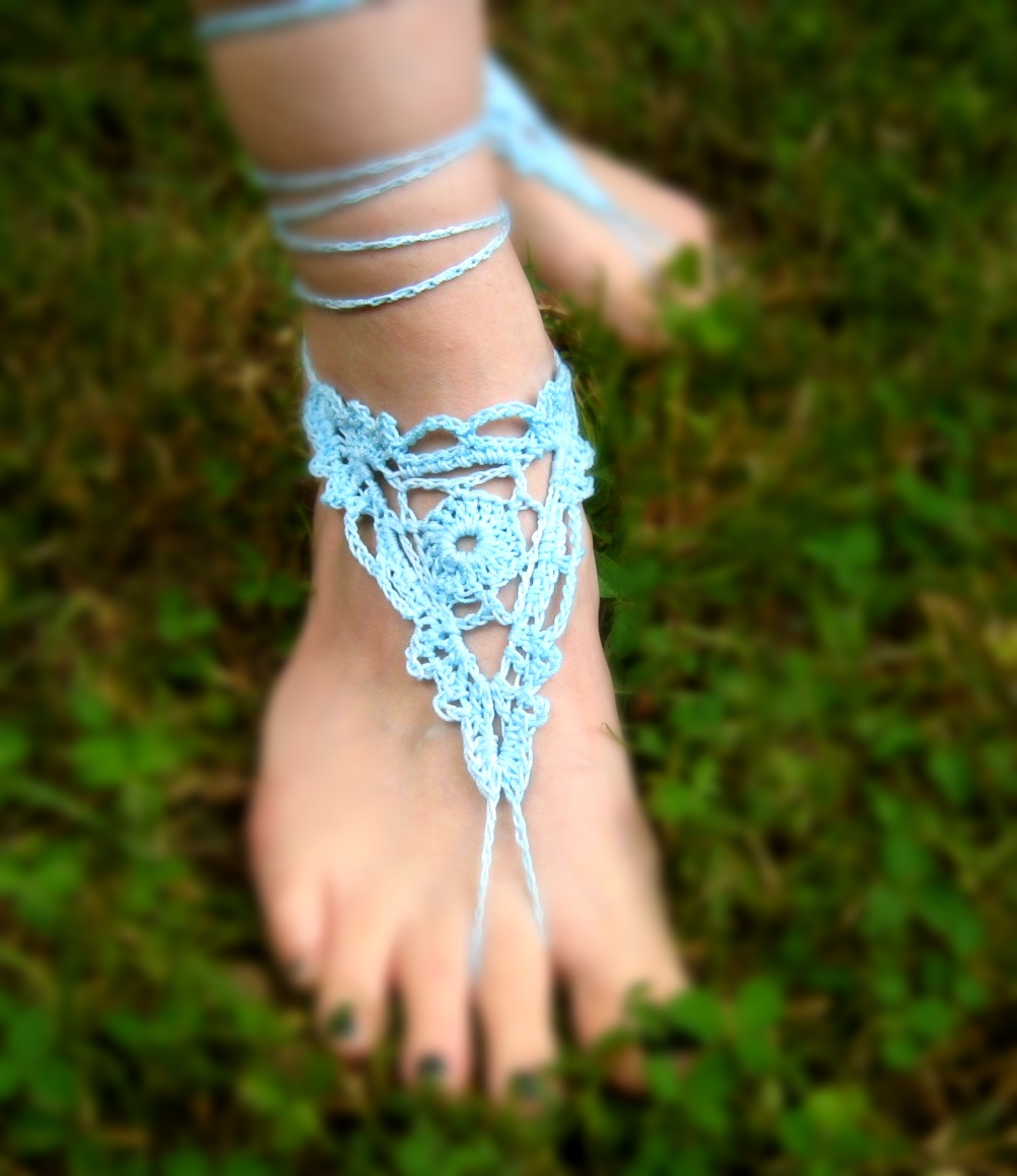 Free Pattern Friday Guest: Barefoot Sandals | YarnPaint!
